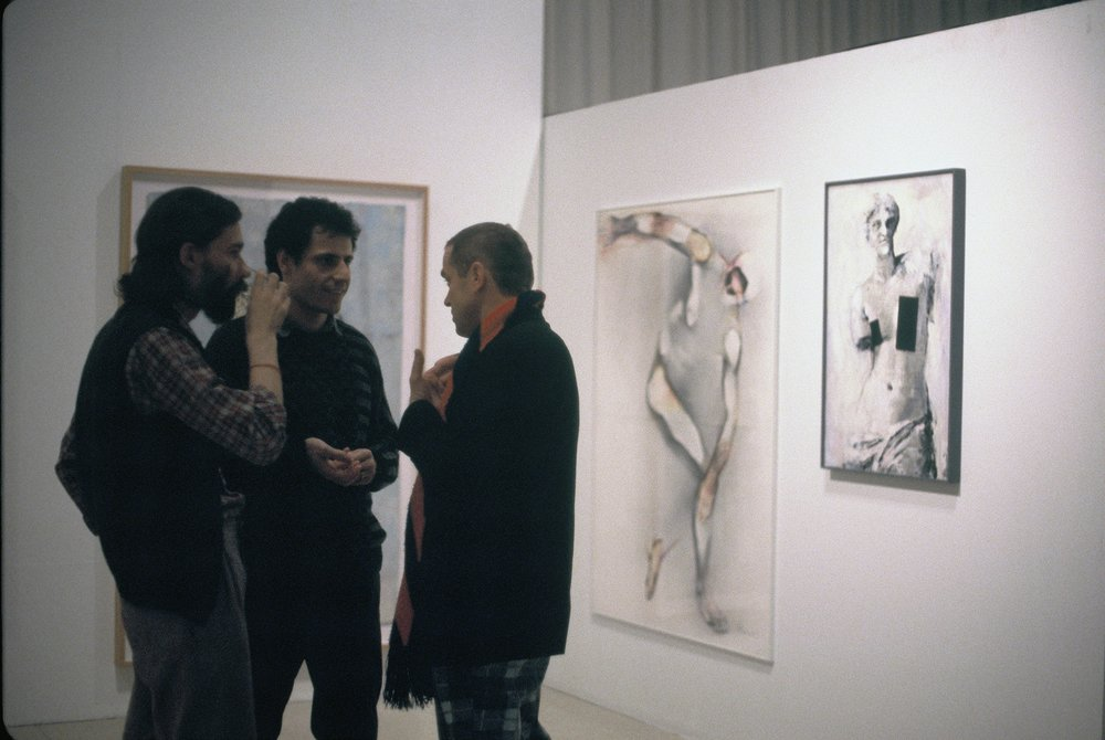 "Exhibition ""Medium: Photocopy"" at the Centre Saydie Bronfman, Montréal, Qc. 1987 Curators: Monique Brunet-Weinmann et Georg Mülheck"