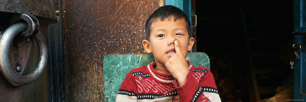 6.      Doigt dans le Nez  . Kathmandu, Nepal.    90cm x 30xm,  support en   aluminium, €89.00   ( Frais de Port inclus)