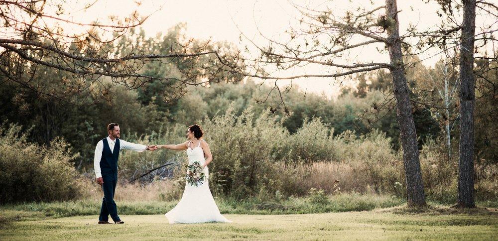 Danielle Aisling Outdoor Wedding