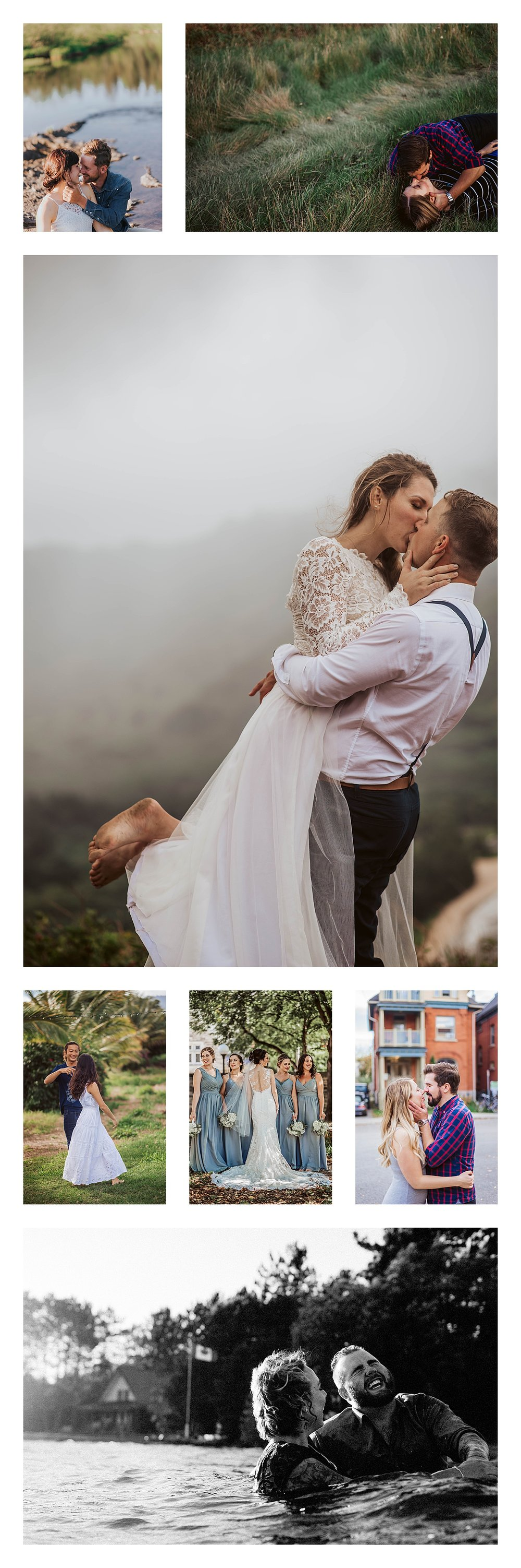 Romantic and Intimate Wedding and Elopement Photography