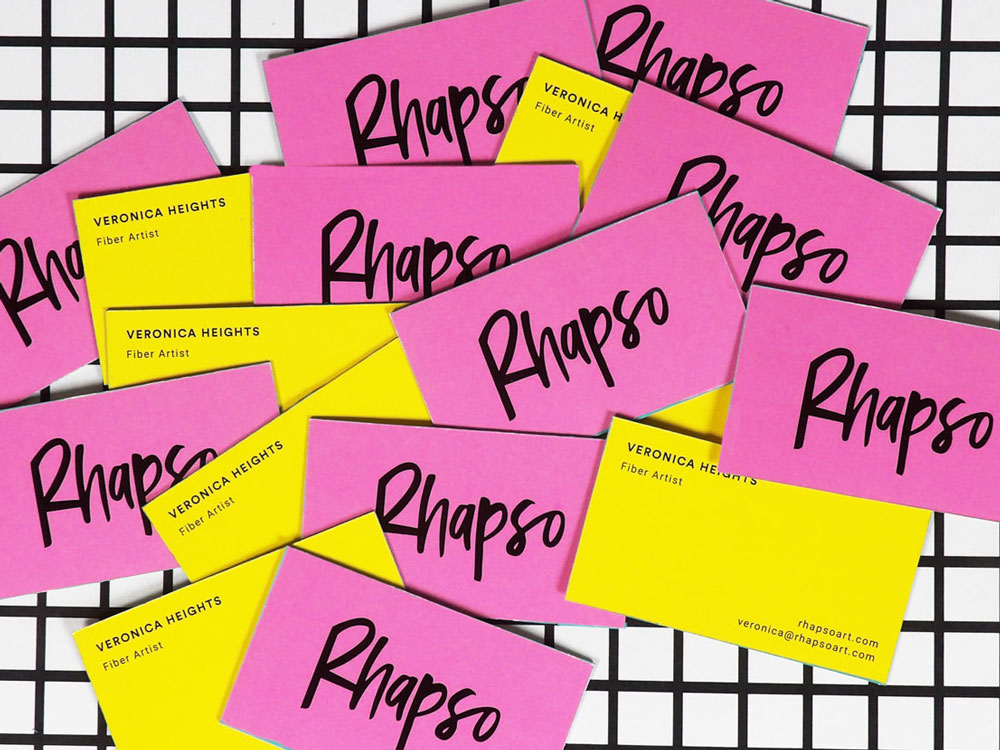 Timia Lewis | Rhapso business cards | Creative Lady Directory