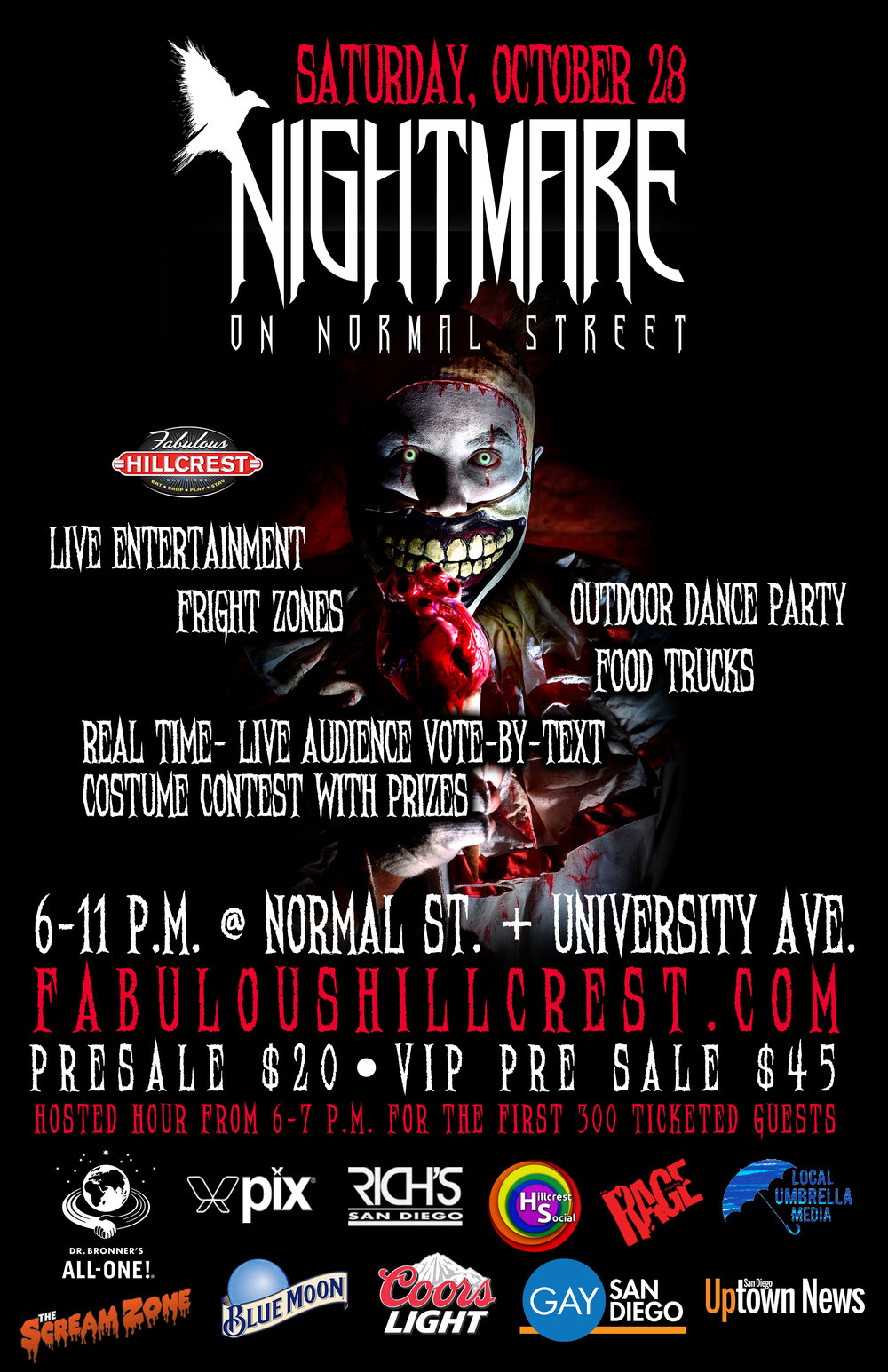 Float on over to Nightmare on Normal Street!