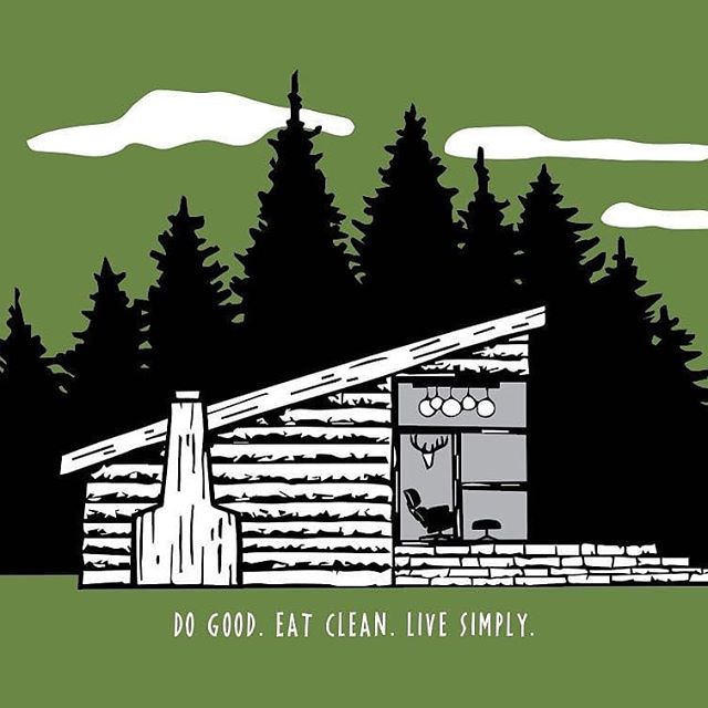 The good folks over at @thegoodlocal are having a giveaway of this print I did. I like what they do. Check them out (and their contest rules) and give them a follow please. #eatlocal #livesimply #lifeincanada #dogood #eatclean #cabinlife #cabin #moderncabin
