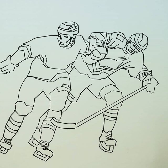 It's a shame when fans treat a visiting team/country/exteam member with disrespect. #johntavares #torontomapleleafs #newyorkislanders #hockey #illustration #roughsketch #doodle #drawing