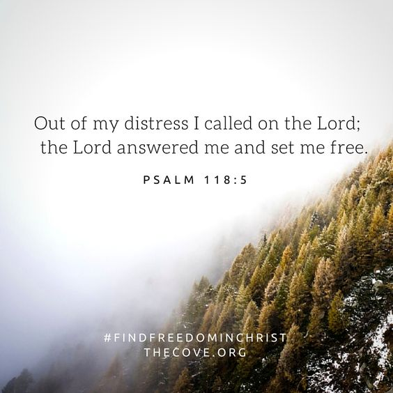 An image I found on Pinterest of one of my favorite verses in Psalm 118.