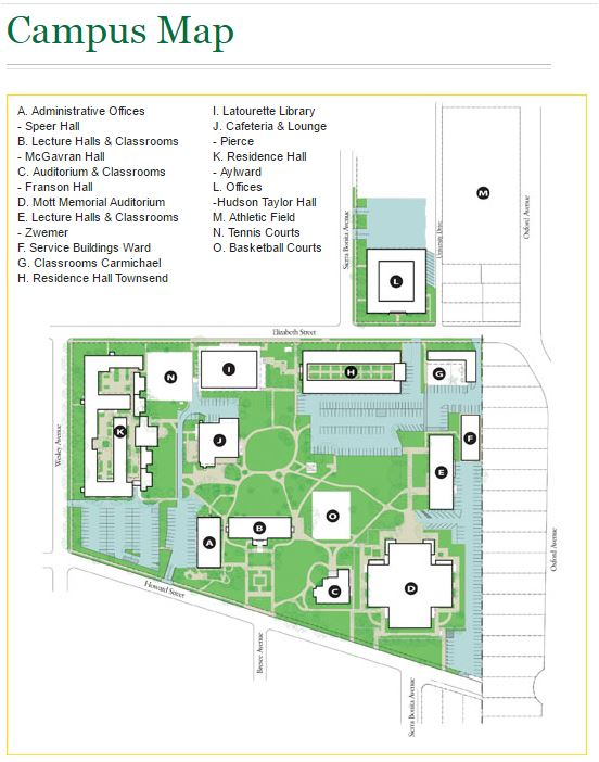 Campus Map William Carey International University