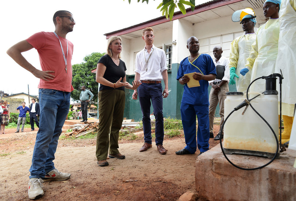 Our students serve on the front-lines in developing countries. -