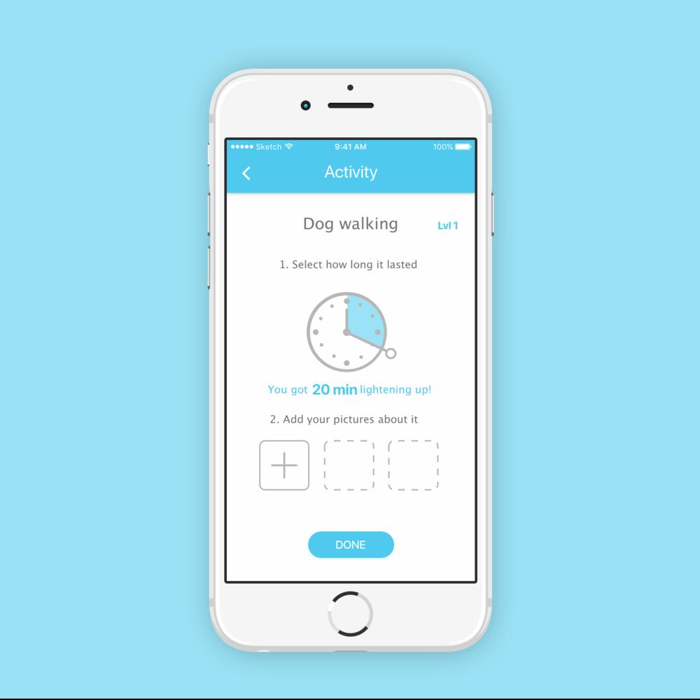 Lighten Up   Health App Design
