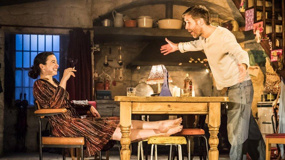 Laura Donnelly as Caitlin Carney and Paddy Considine as Quinn Carney