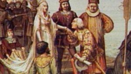 Christopher Columbus and his wife