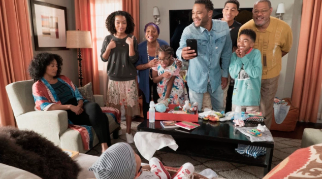 From last week's episode of  black-ish,  which tackled postpartum depression.