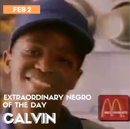 Calvin from McDonald's
