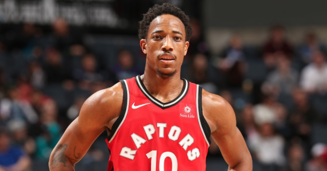 Toronto Raptors shooting guard DeMar DeRozan (photo: SLAM Magazine)