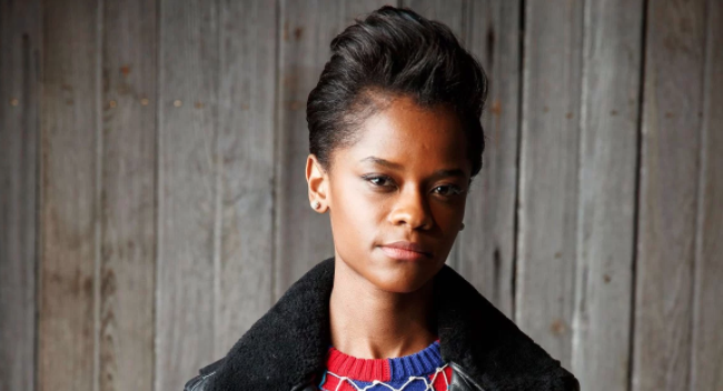 Letitia Wright. (photo:  People )