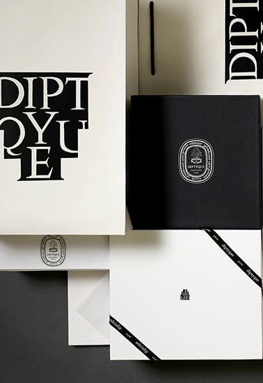Diptyque Black Branding Palette