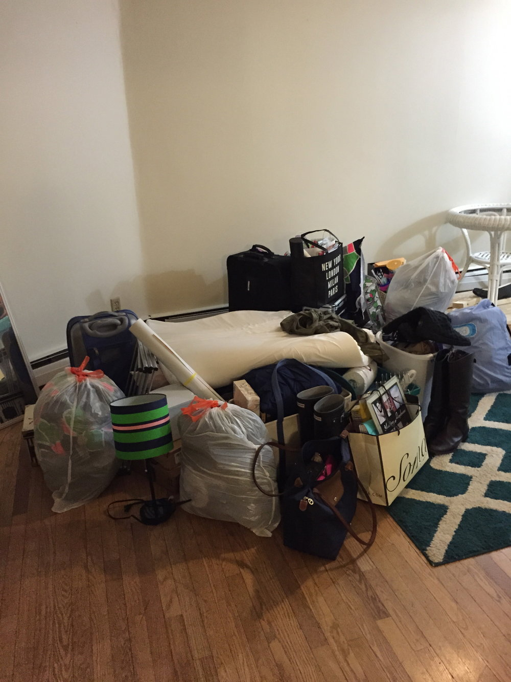 moving into my first apartment, may 2015