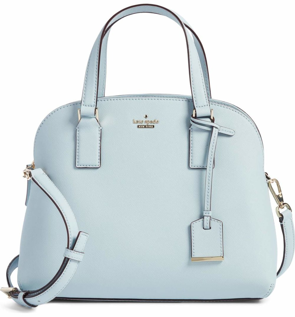 Kate Spade Cameron Street - Lottie Leather Satchel  - This adorable purse will brighten up her every day - go the classic route or a pop of color for a bold style.