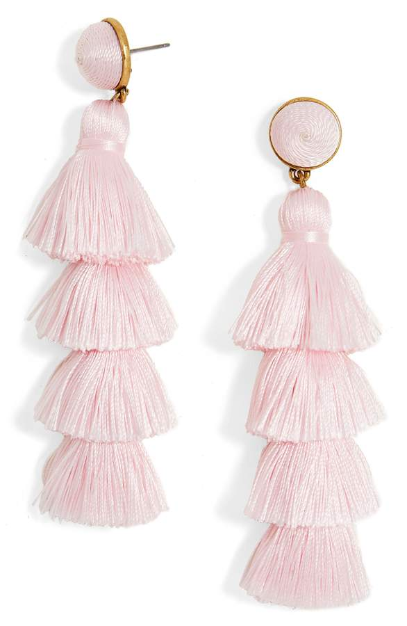 BaubleBar Gabriela Tassel Fringe Earrings  - These flirty earrings are just plain fun - and guaranteed to grab attention!