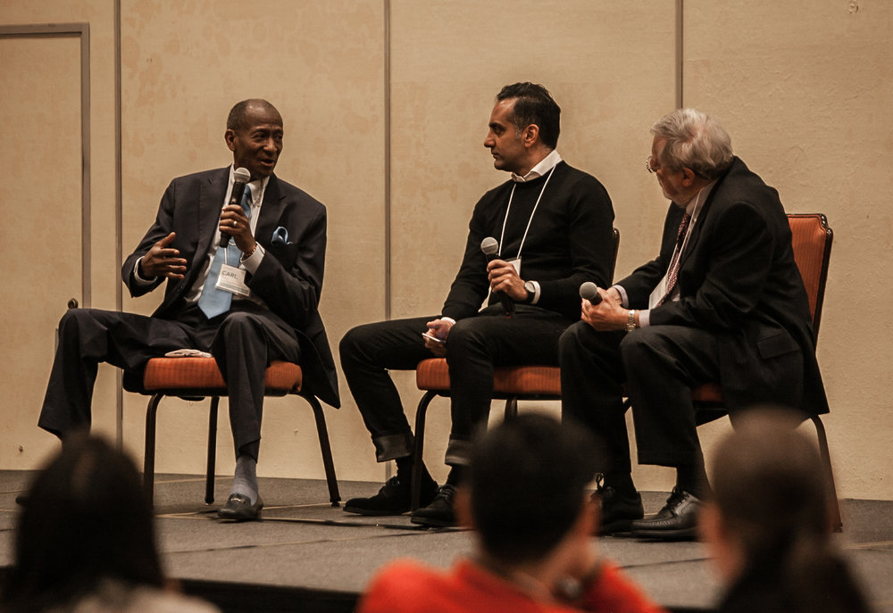 A candid conversation about failure; Carl Baty, Pritpal S Tamber & S Leonard Syme (left to right)