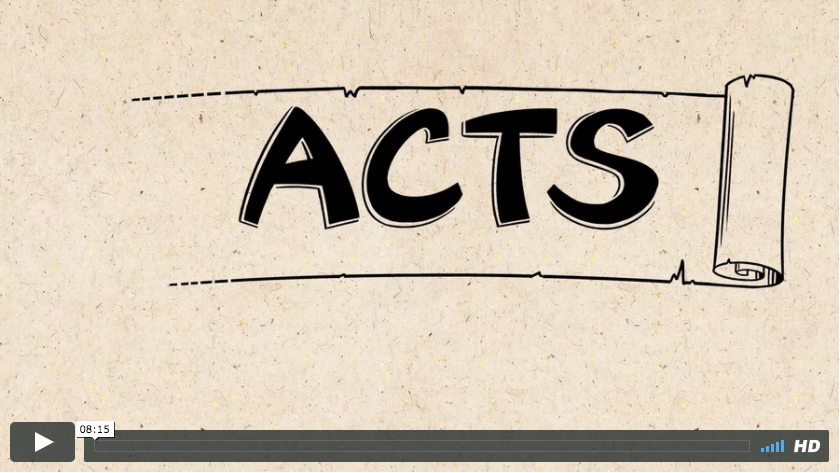 Acts of the Apostles (2 Weeks)