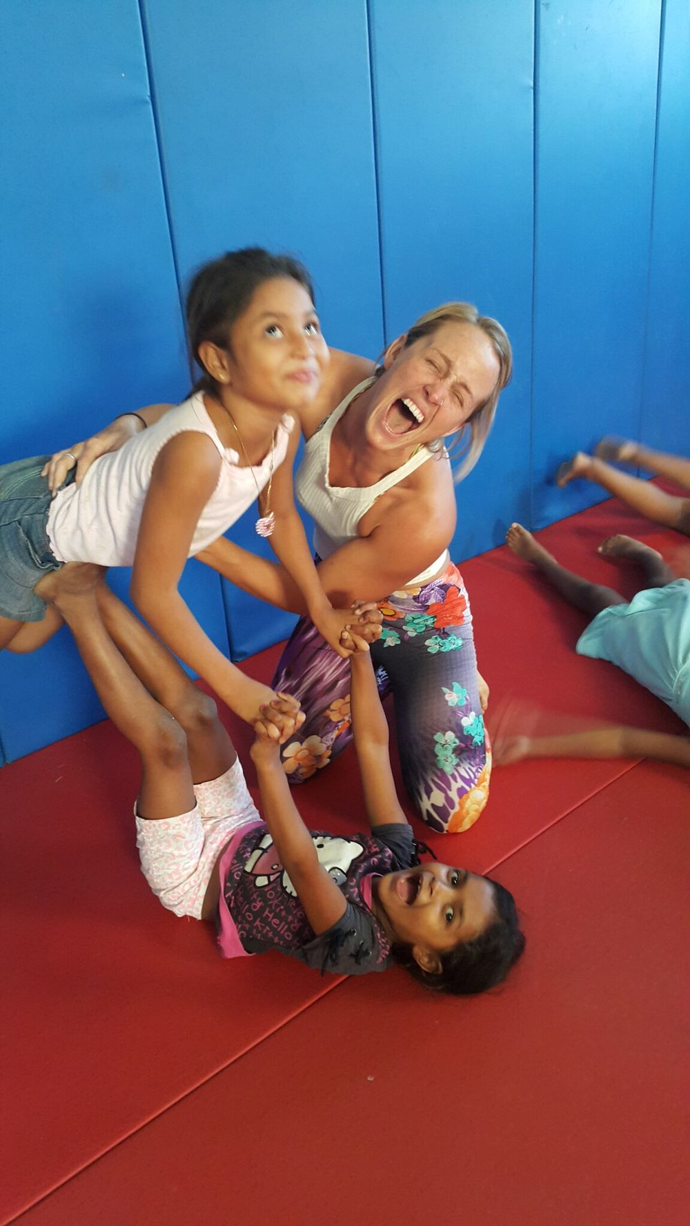 CircAsana - have hosted numerous retreats here at Magnific Rock and always involve the youth in community yoga and performances. They never fail to amaze us at their desire to learn new skills and have fun while doing it.