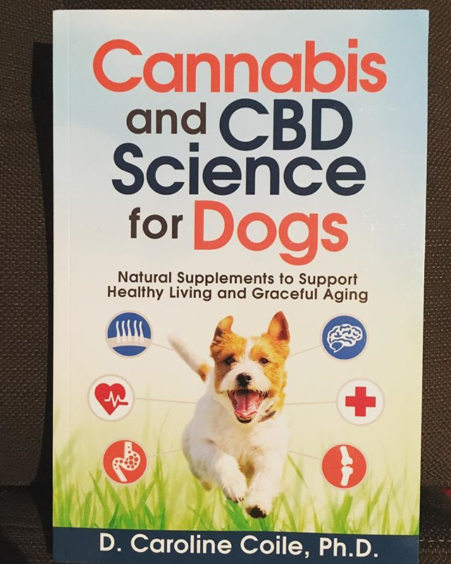 "My new secret admirer or stalker-killer sent me a copy of ""Cannabis and CBD Science for Dogs"" today. Quite the mystery. It's addressed to me...but no name, no note, no tracking number and no return address. I don't even have a dog. And, far as I can remember, I've never expressed an opinion about whether dogs should smoke pot. #TheDopeWhisperer"