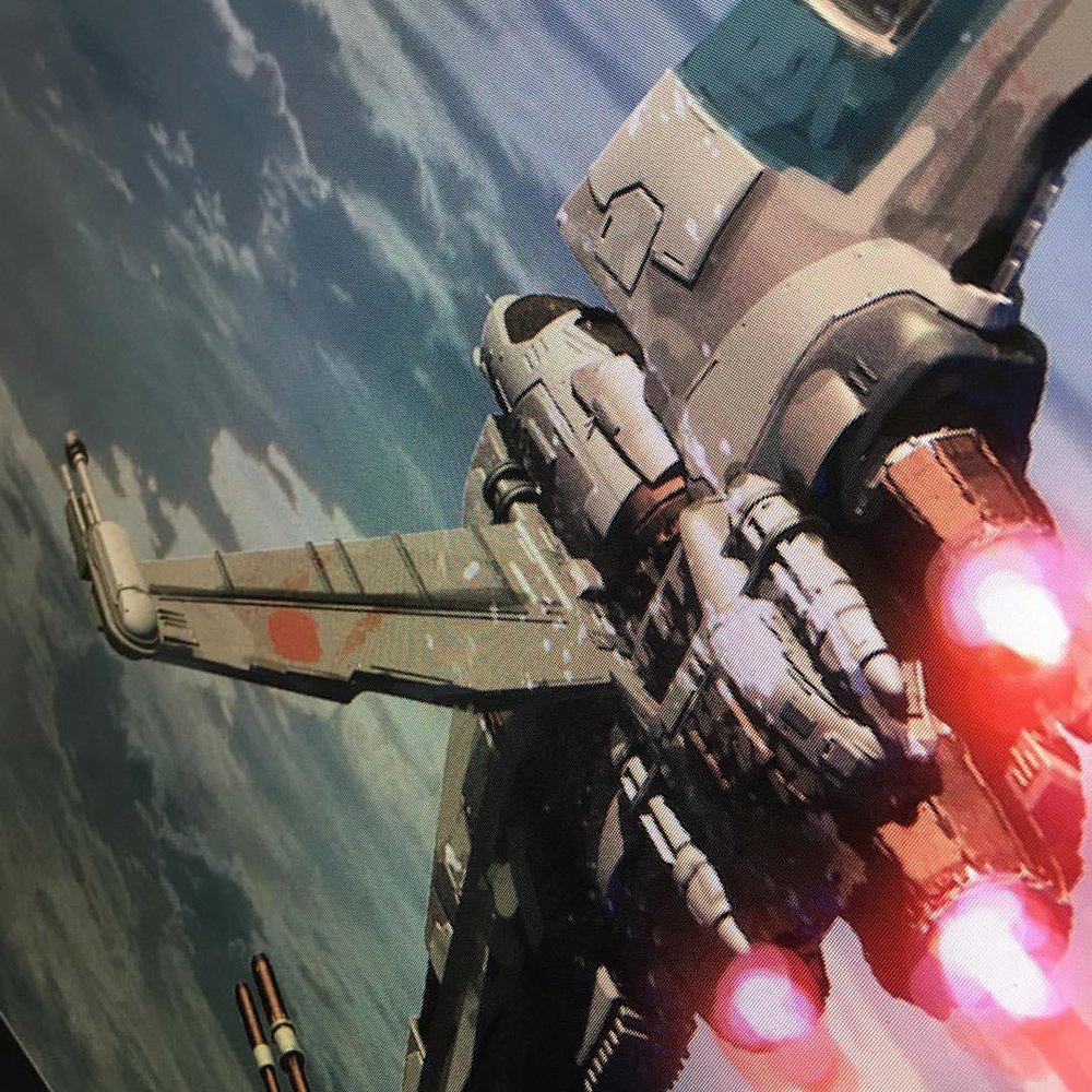 Tomorrow is when art station and ILM will give the go ahead for the entered on the ILM challenge. #teaser for tomorrow. Jumped the gun on the first set of them. #liveAndLearn #starwars #spaceships