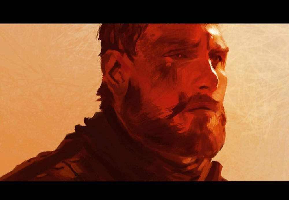 #MaySketchaDay 12 Daily exercise in the the battle against perfectionism and fear. #MacBeth quick #study #shakespeare #fastbender #art