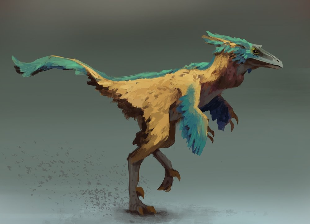 MaySketchaDay 11 Daily exercise in the the battle against perfectionism and fear. Fun little Troodon perhaps the cutest of the Terrance dragons