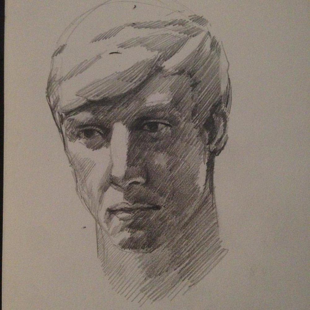 Sculpt study #drawing #sketching #study #pencildrawing