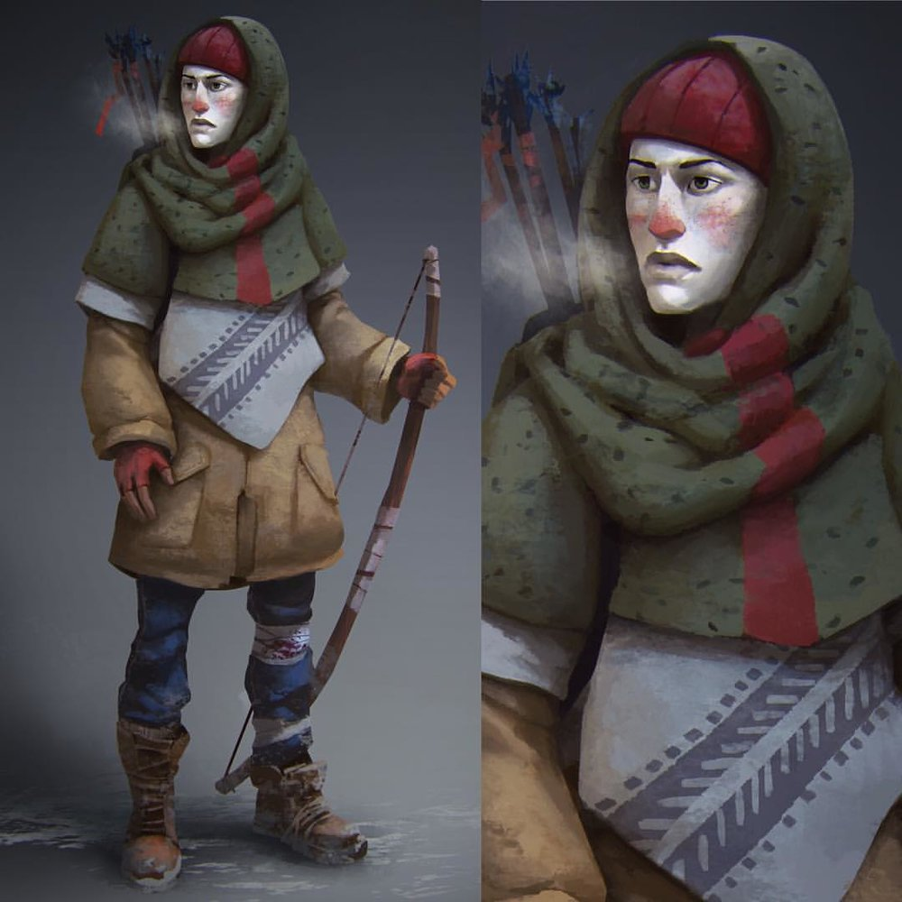 This is Dr. Astrid Greenwood, one of the playable characters in the long dark Story Mode, launching Spring 2016 Copyright 2015 Hinterland Studio Inc. Used with permission  #TheLongDark #ConceptArt #Hinterland #survivor #characterconcept