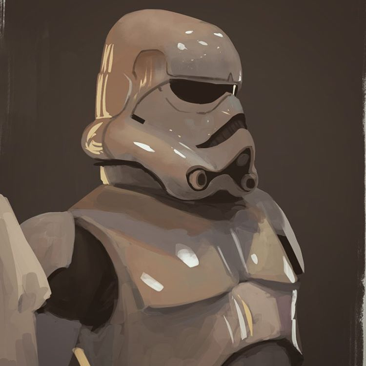Photo study of OG Ralph Mcquarrie #stormtrooper #statwars #GrandMaster