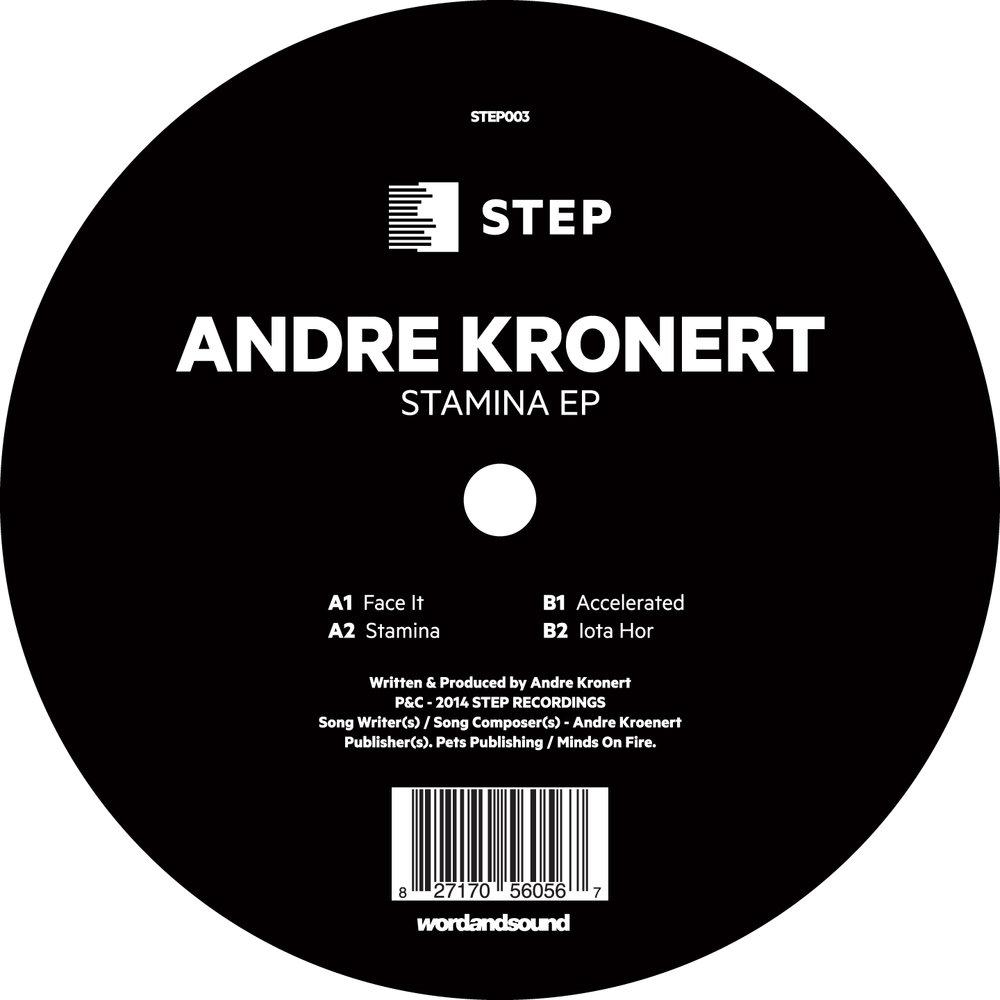 Andre Kronert - Stamina EP [STEP003]