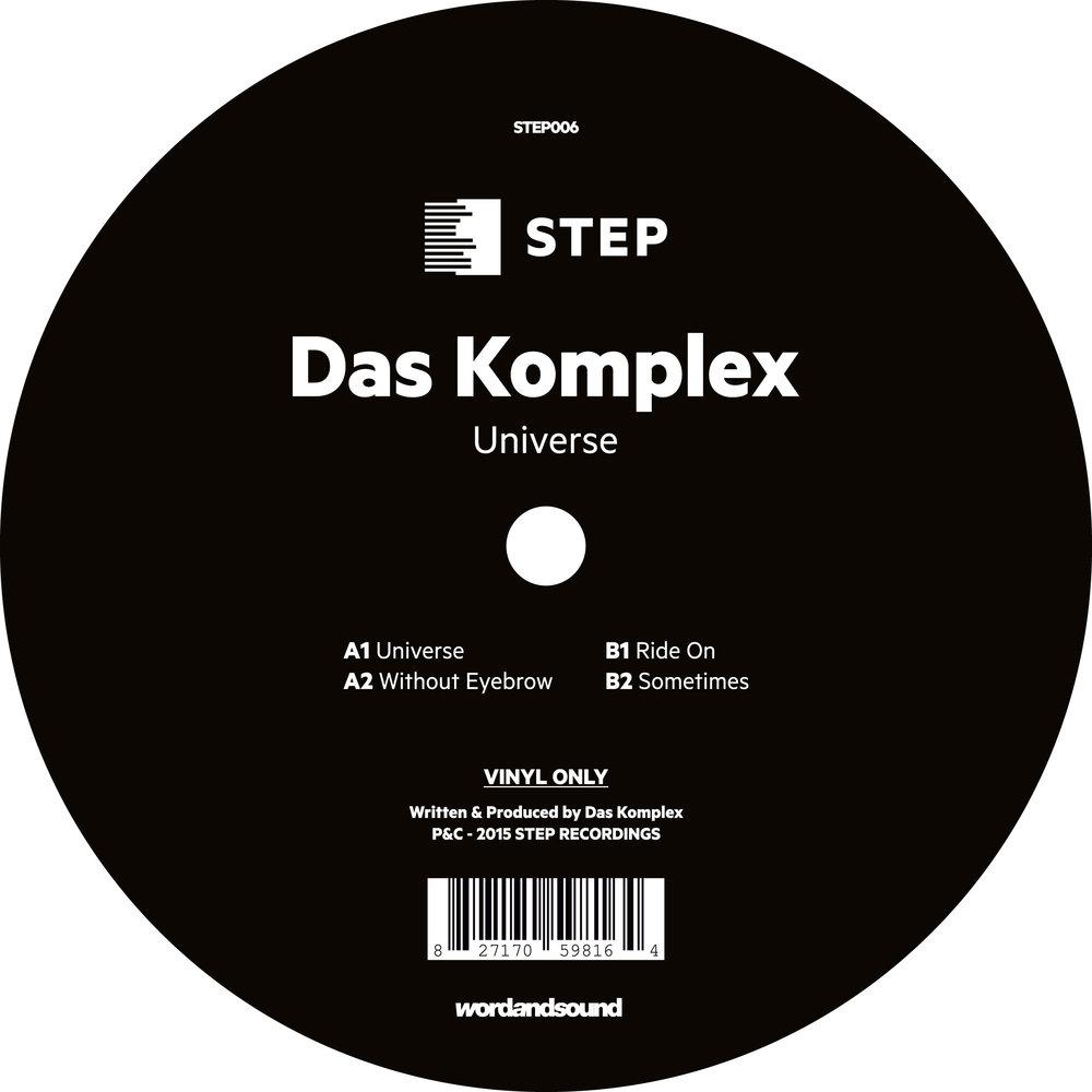 Das Komplex - Universe EP [STEP006]