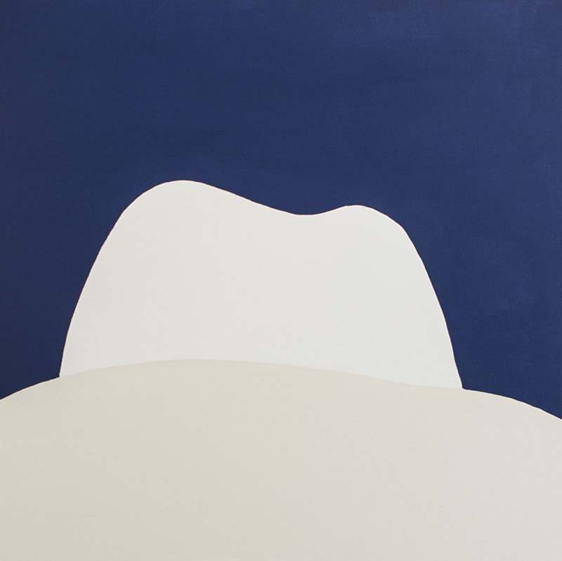 Dawn at Snow Mesa  36 x 36 inches  Synthetic Polymers on Canvas   $3000  available to buy with  ArtMoney