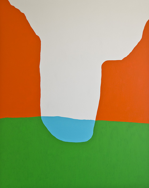 Dip  60 x 48 inches  Synthetic Polymer on Canvas  $ 5250  available to buy with  ArtMoney