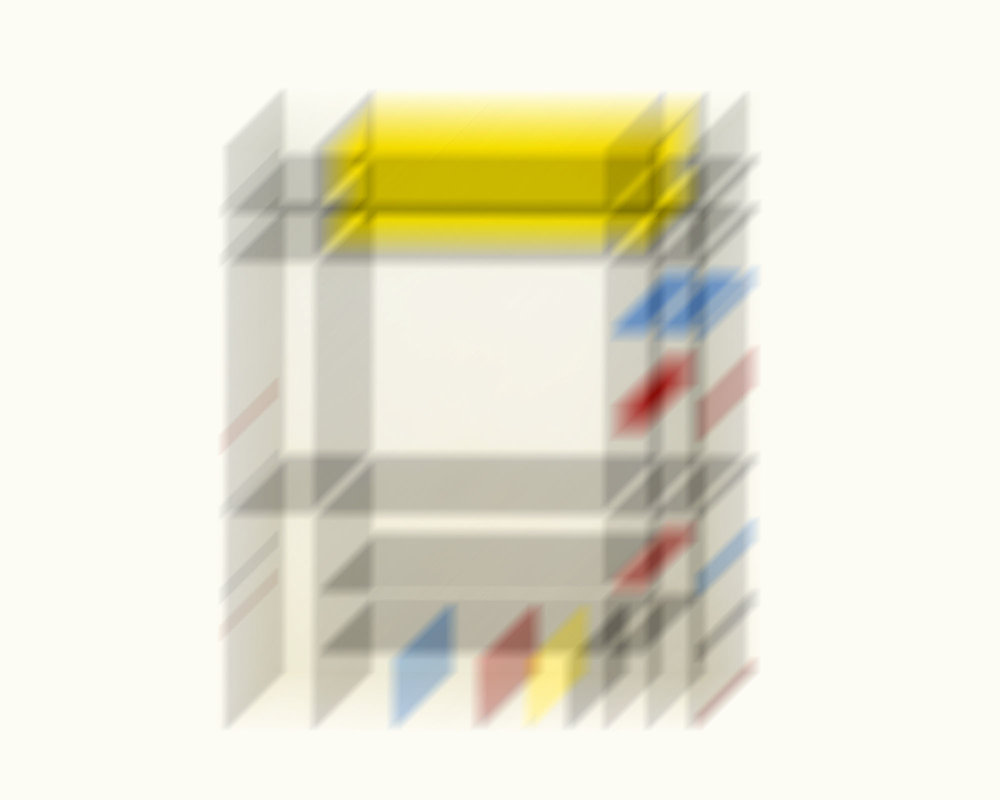 Piet Mondrian 2  20 x 16 inches  Edition of 15   Available Here