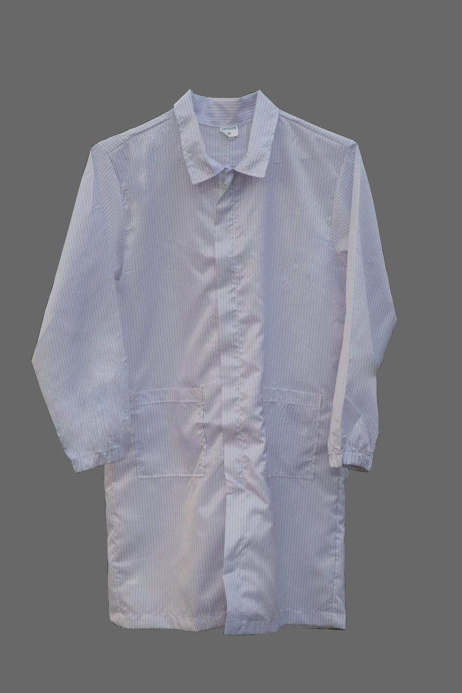 Lab coat: lint-free, static-free