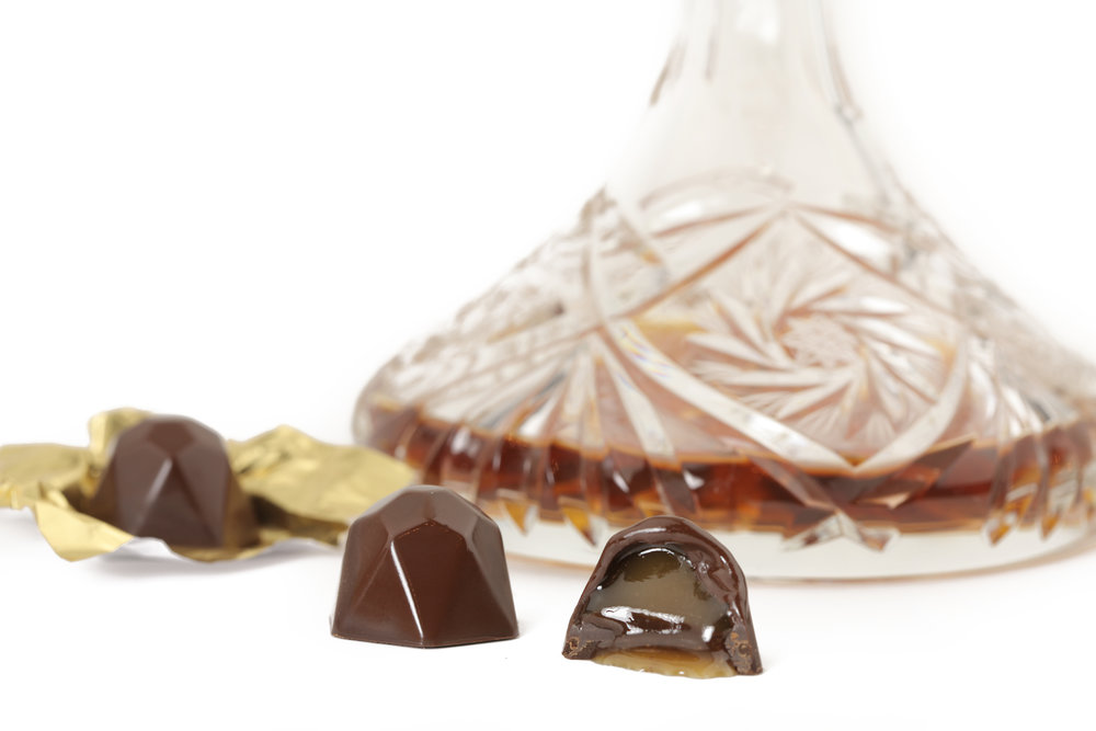 Ooh Lala - French cognac reduction in Cioccolada's special caramello