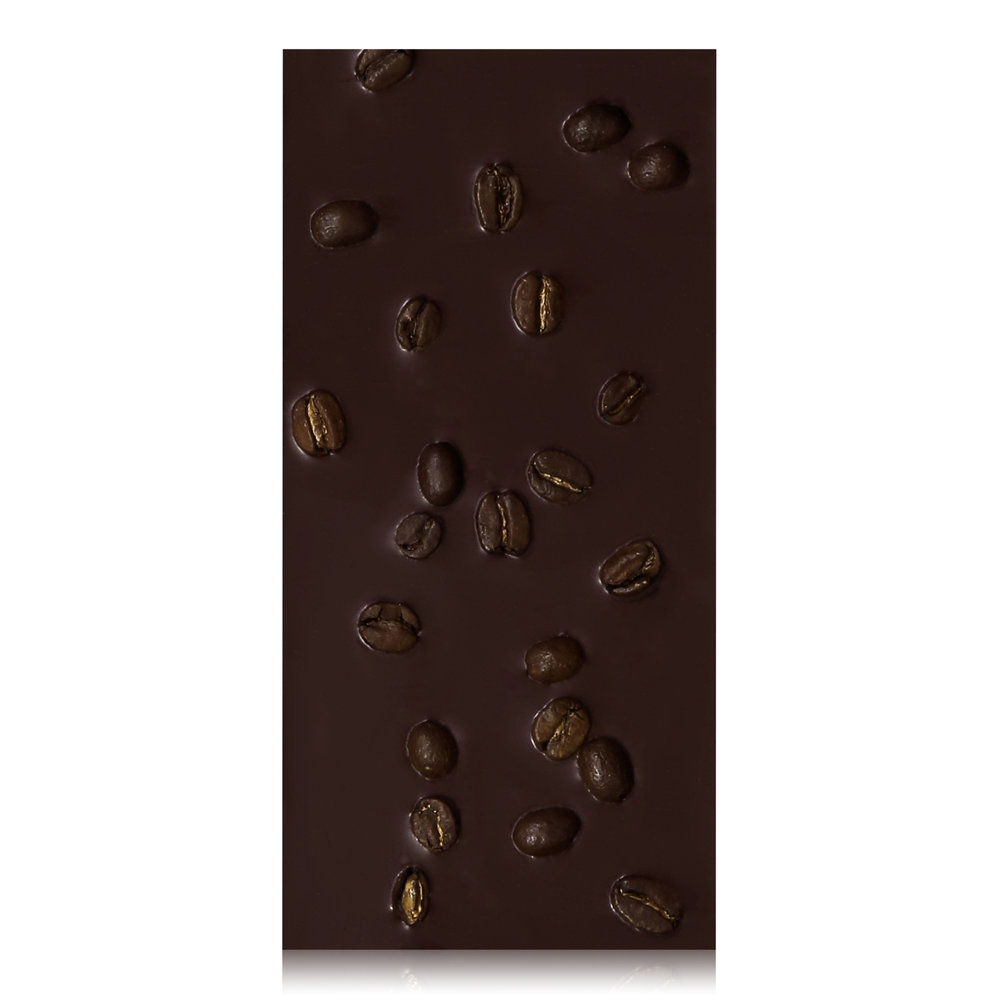 Espresso Break Chocolate Bar - Organic whole espresso beans