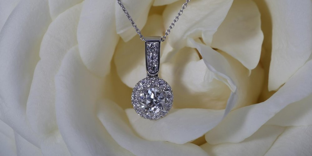 Diamond Virtue necklace