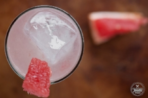 Grapefruit Tequila Slammer  from Self Proclaimed Foodie