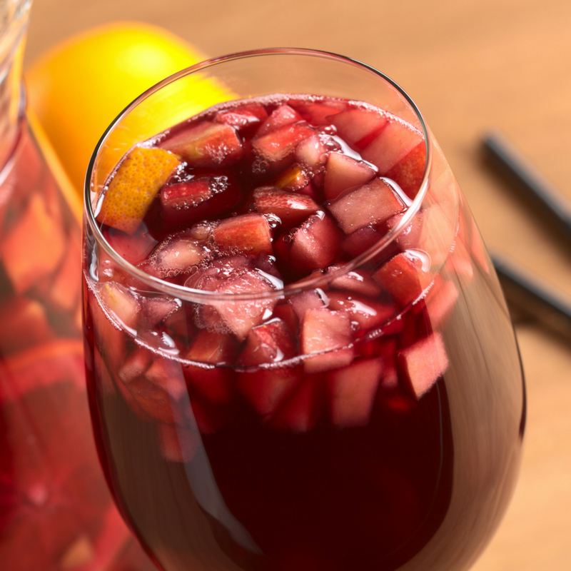 Red Wine Sangria from Alton Brown