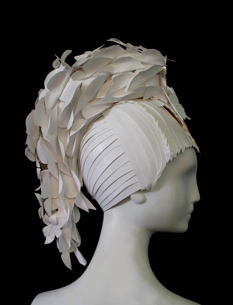 Amy Flurry paper wig