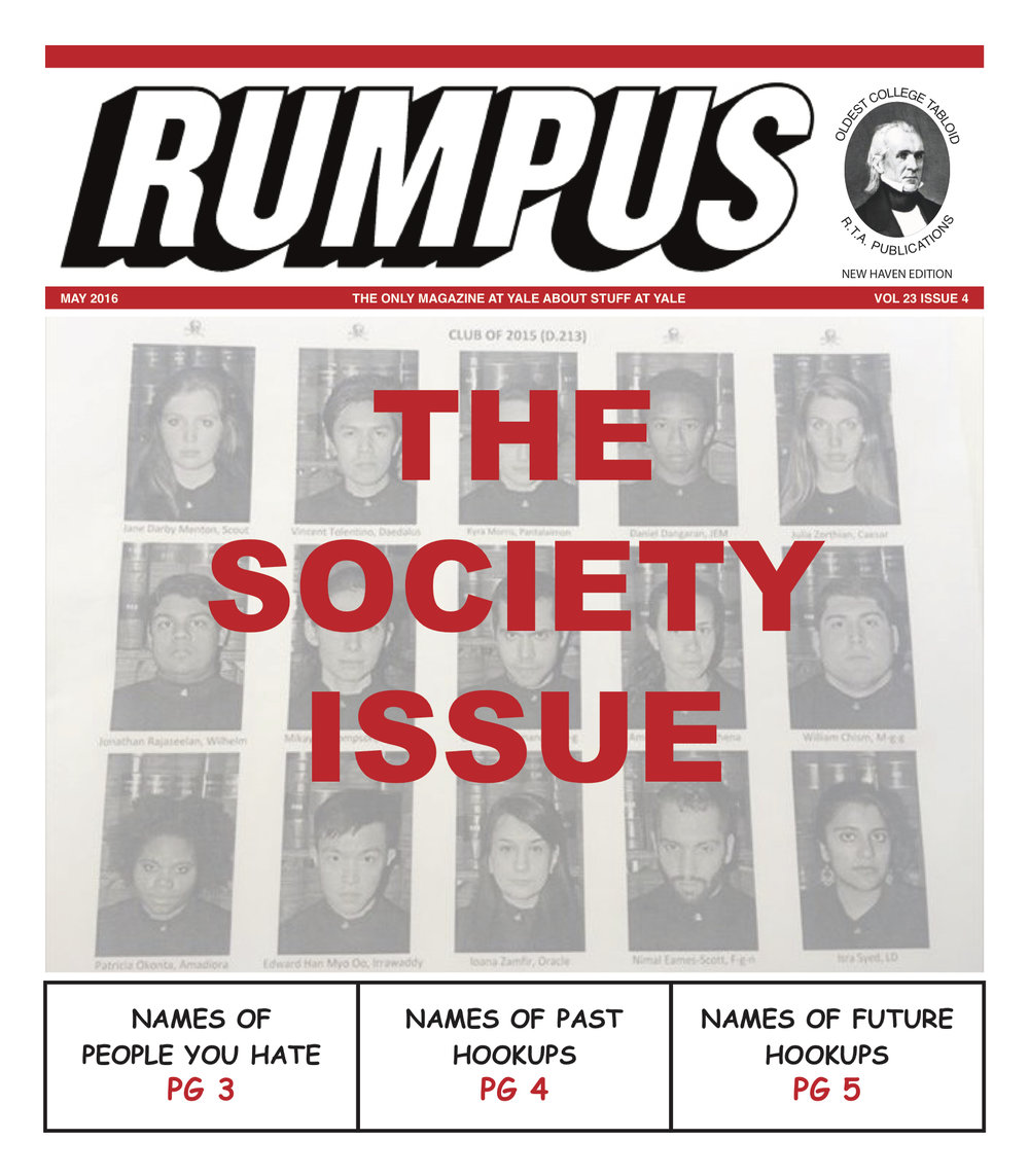 SOCIETY ISSUE 2016