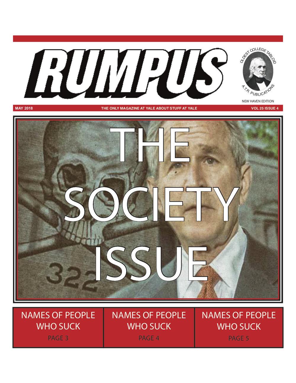 SOCIETY ISSUE 2018