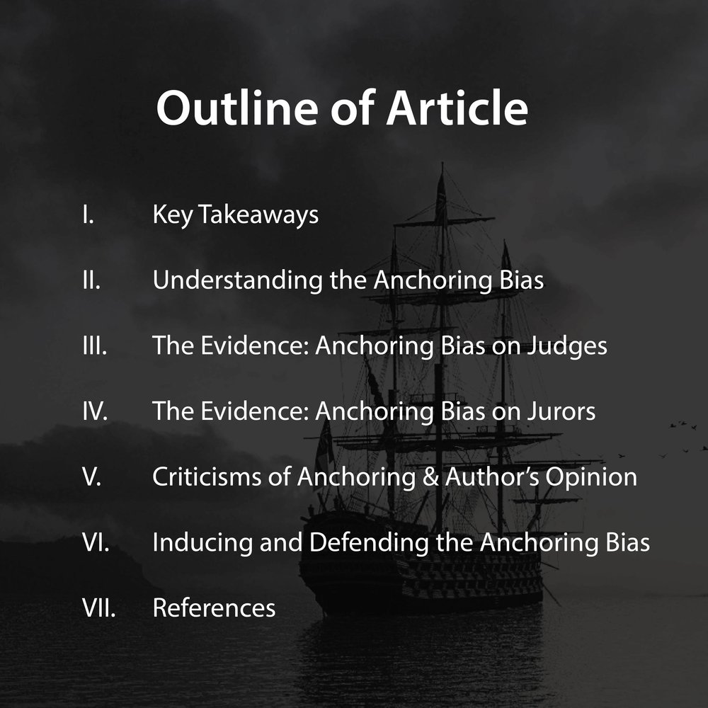 format of anchoring