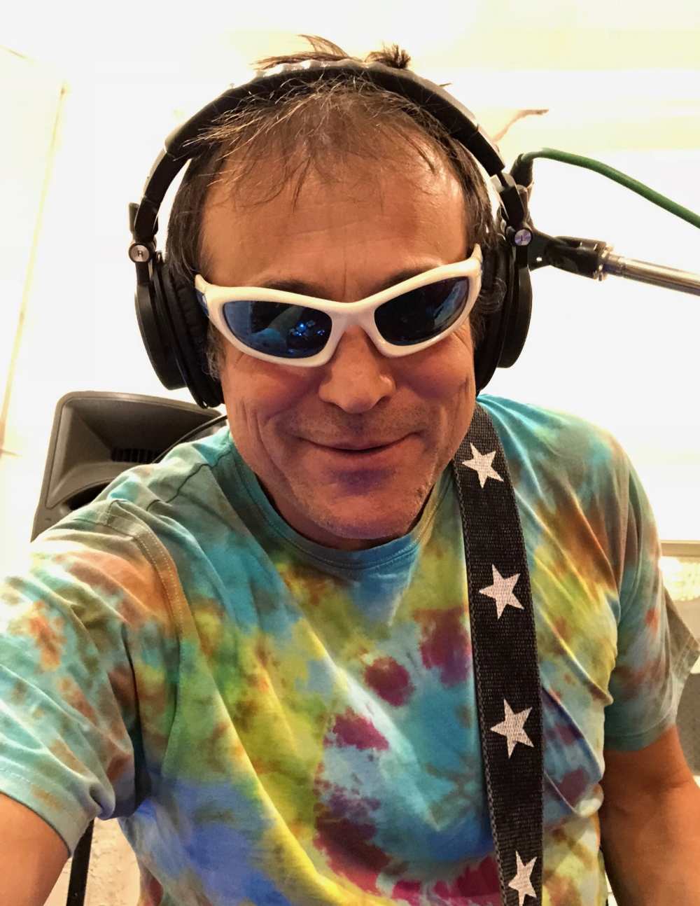 Back in the Depot Studio recording drum tracks for the 2nd album. This pic is straight from the 90s...tie dye is not dead! Uber producer Morgan Allen is once again at the controls. Here's a clip of the last song of the day, 'Tear Down'. Couldn't do too many takes of this one!