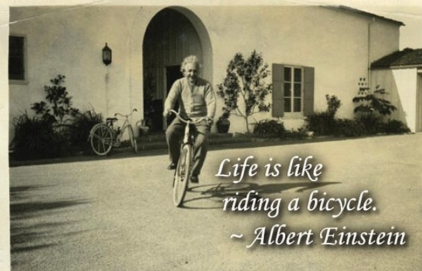 Balance, vision, glide, break, pedal, pray, give thanks! Hope this week is strong for you on & off the bike! #castashadow #investinginlivesonandoffthebike #shutuplegs #keepgoing #lovedoes #alberteinstein #hessmart