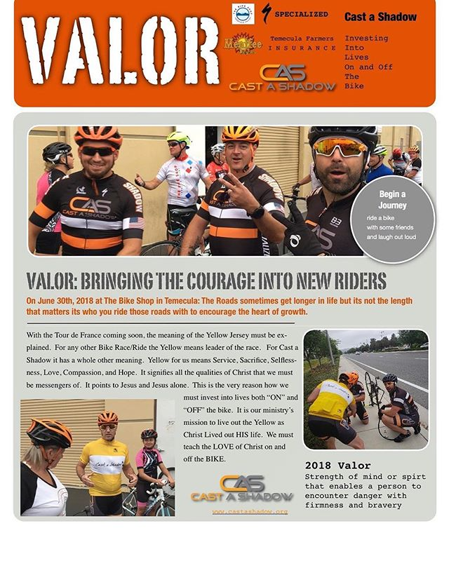 CAS Valor Update!! Yellow Jersey explained 🏆Check it out. #service #sacrifice #selflessness #love #compassion #hope #onandoffthebike 🚴🏾‍♂️🚴🏽‍♀️🚴🏼‍♂️🚴🏾‍♀️